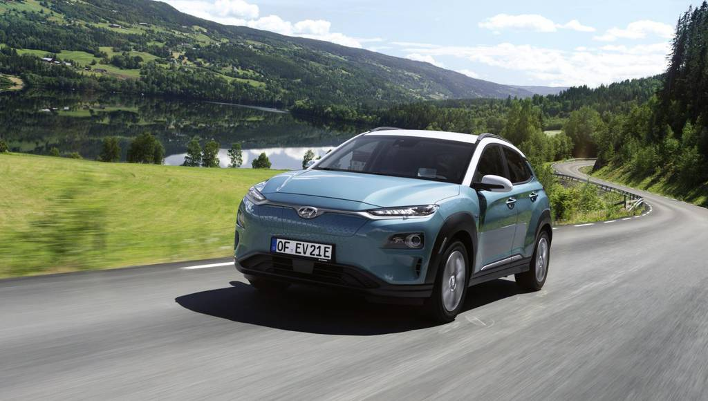 Hyundai Kona electric range revised