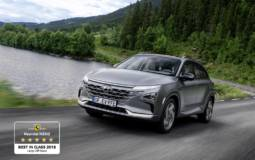Hyundai Nexo, one of the safest cars tested by EuroNCAP in 2018
