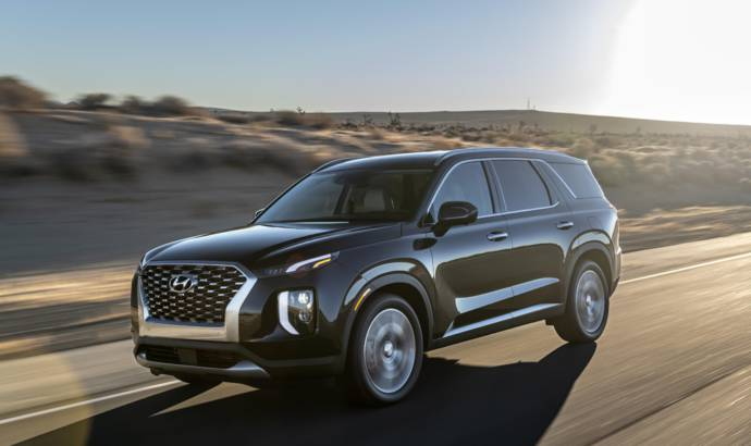 Hyundai Palisade unveiled in the US
