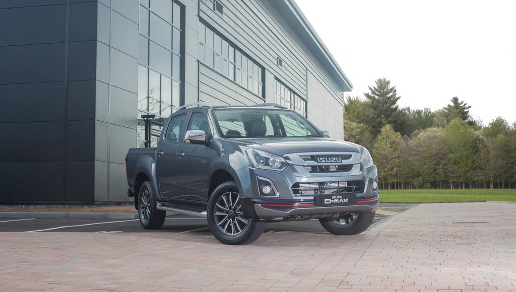 Isuzu D-Max Utah V-Cross launched in UK
