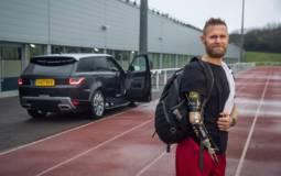 Jaguar Land Rover automatic door opening