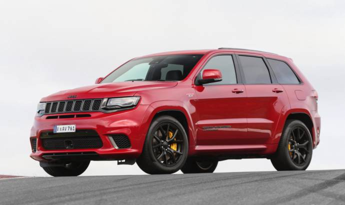 Jeep Grand Cherokee Trackhawk available in UK