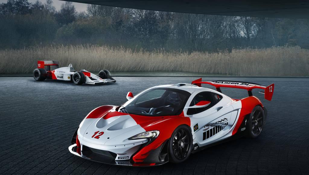 McLaren P1 GTR dedicated to Ayrton Senna championship
