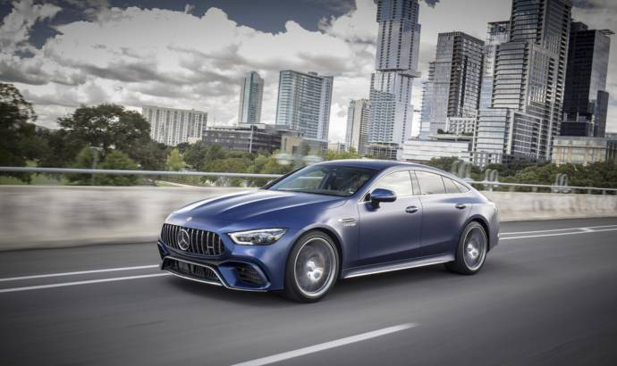 Mercedes-AMG GT 4-Door Coupe US pricing announced
