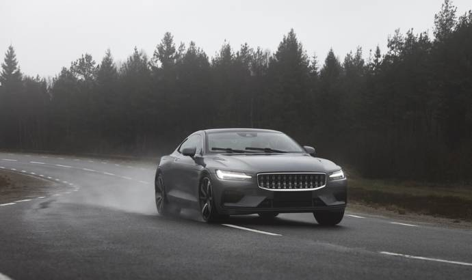 New imagines with Polestar 1. The Swedish hybrid coupe will be produced in 2019