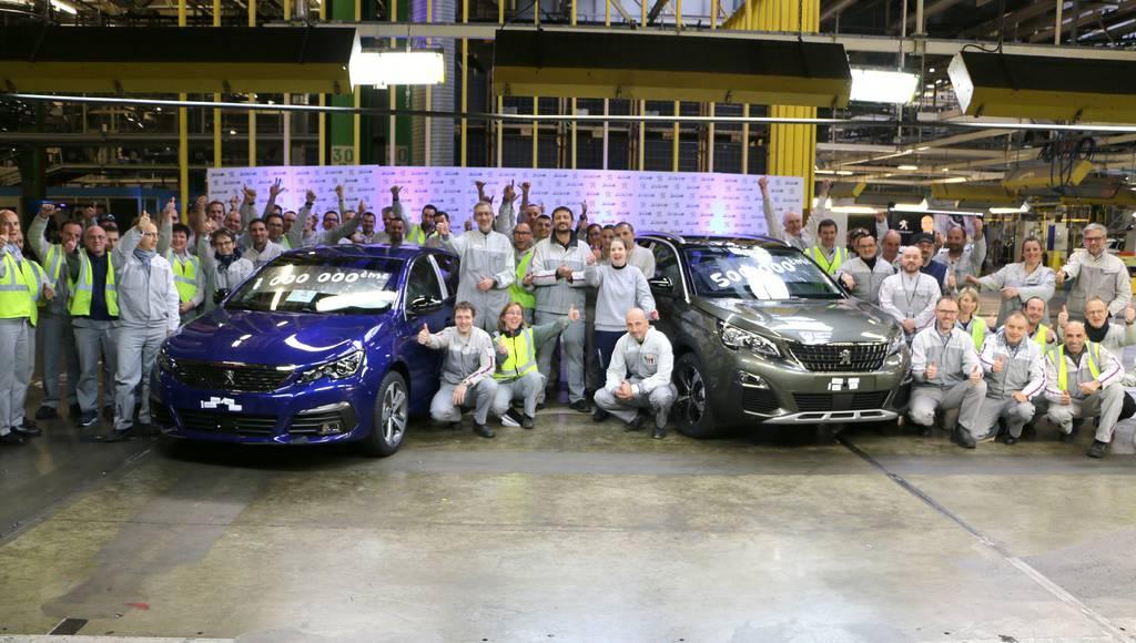 Peugeot produced its one millionth C-segment car