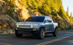 Rivian R1T all electric pick-up truck unveiled