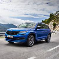 Skoda shares some light on the new Kodiaq RS