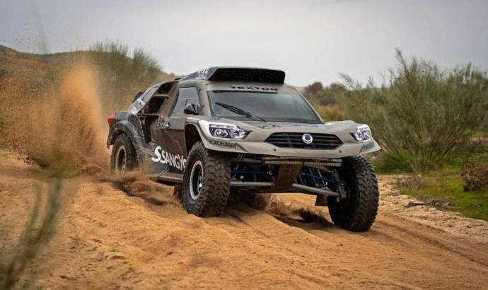 Ssangyong Rexton DKR to compete in 2019 Dakar Rally