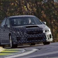 Subaru WRX STI S209 - first teaser video