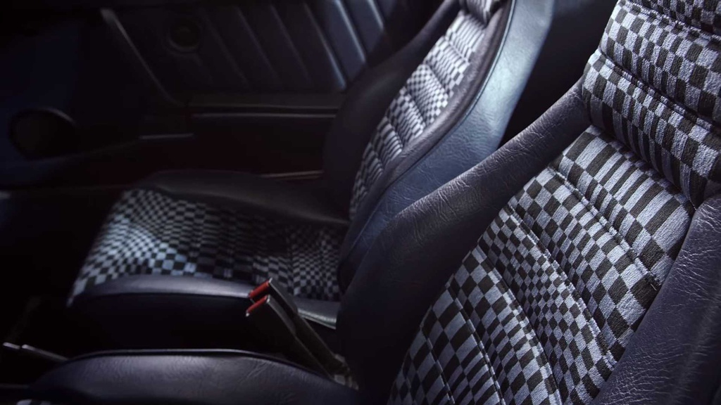 These are the five fanciest seat patterns used by Porsche