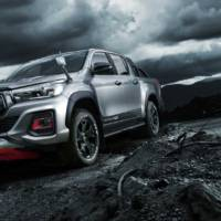 This is the all-new Toyota Hilux Black Rally edition