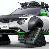 Watch this Nissan Juke transformed into a snowmobile will hit the 2019 Tokyo Auto Show