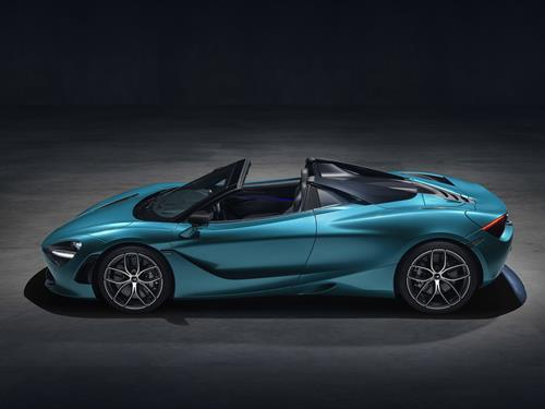 McLaren unveiled the all-new 720S Spider