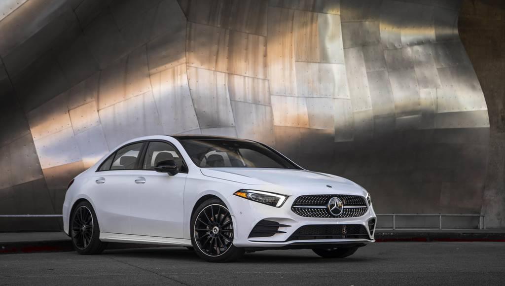 2019 Mercedes A-Class Sedan US pricing announced