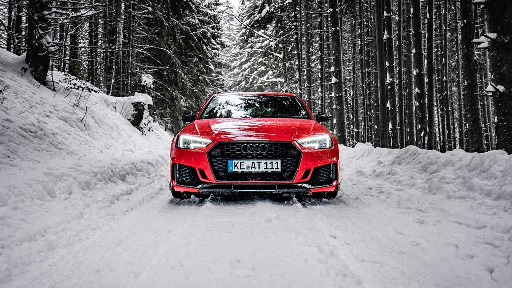 ABT developed a performance pack for Audi RS4 Avant