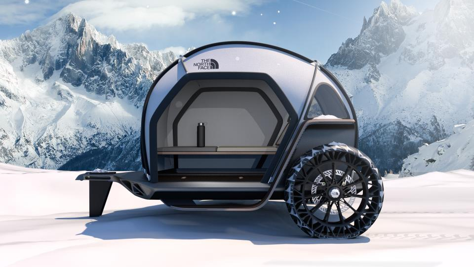 BMW Designworks and North Face introduce the new Futurelight Camper