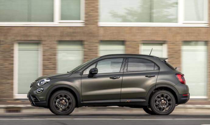 Fiat 500X S-Design launched in UK