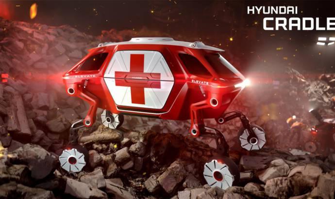 Hyundai Elevate is a walking car concept