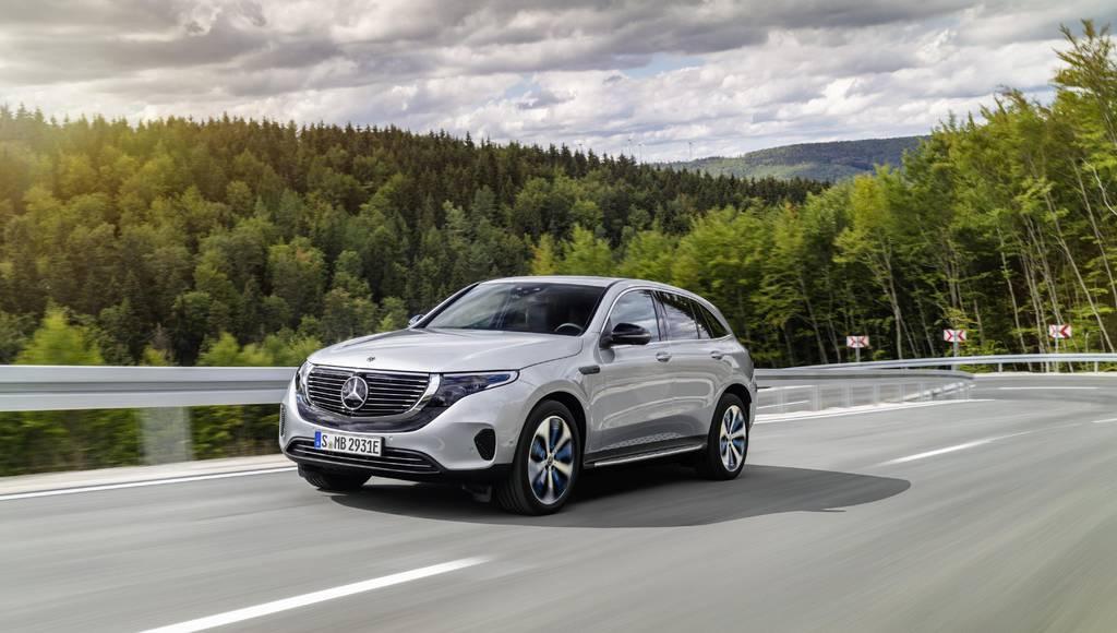 Mercedes-Benz EQC made US debut at CES Las Vegas