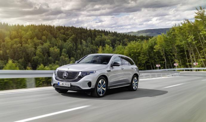 Mercedes-Benz EQC made US debut at CES Las Vegas