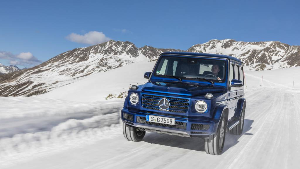 Mercedes-Benz G 350d UK pricing announced