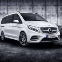 Mercedes-Benz V-Class facelift unveiled