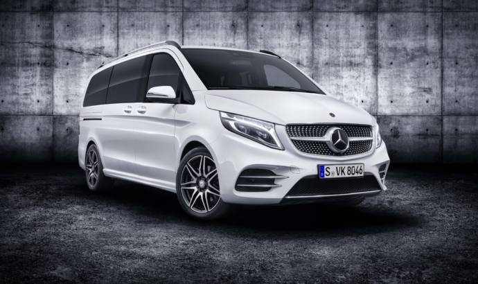 Mercedes-Benz V-Class facelift unveiled