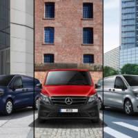 Mercedes Vito Premium, Progressive and Pure available in UK