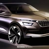 Skoda Kamiq first sketches unveiled