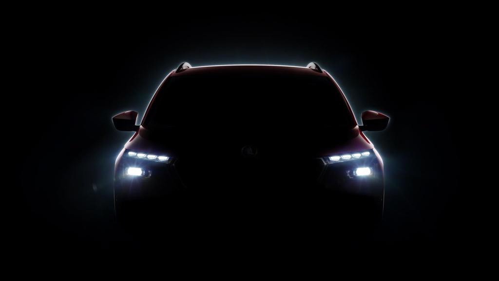 Skoda teases third SUV model