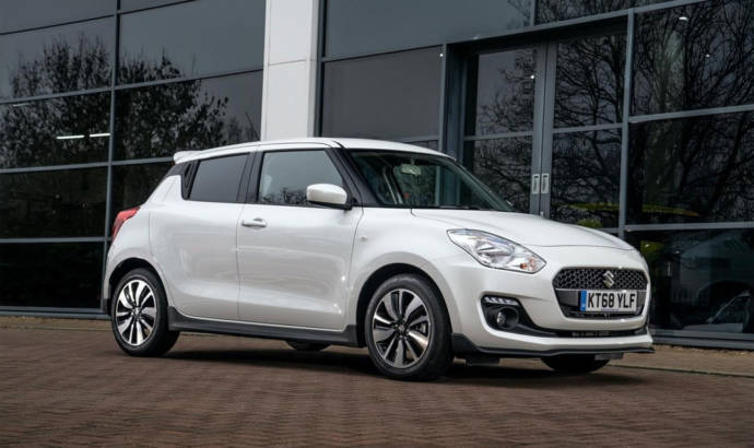 Suzuki Swift Attitude launched in UK