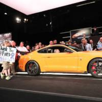 The first 2020 Ford Mustang Shelby GT500 was sold for 1.1 million USD
