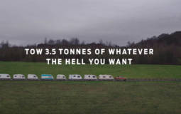 The new Ford Ranger is a heavy-duty machine. In this video it pulls 20 caravans