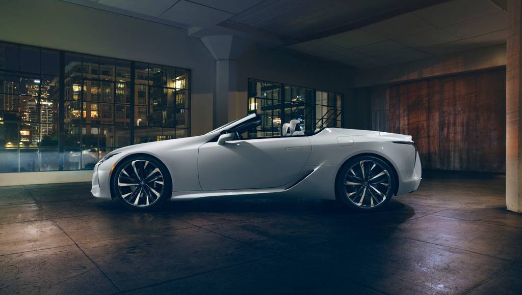 This is the 2019 Lexus LC Convertible Concept
