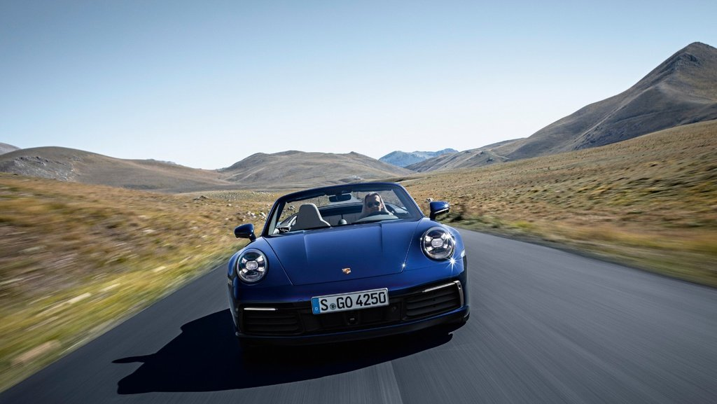 This is the all-new 2020 Porsche 911 Cabriolet