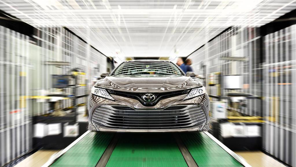 Toyota reaches two million cars produced in US in 2018