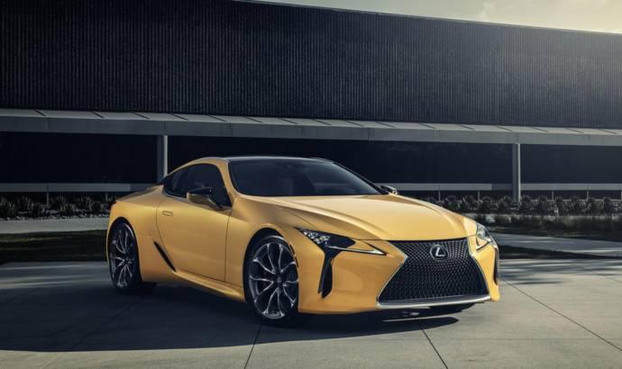 2019 Lexus LC 500 Inspiration Series announced