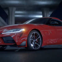 2019 Toyota Supra leaked video