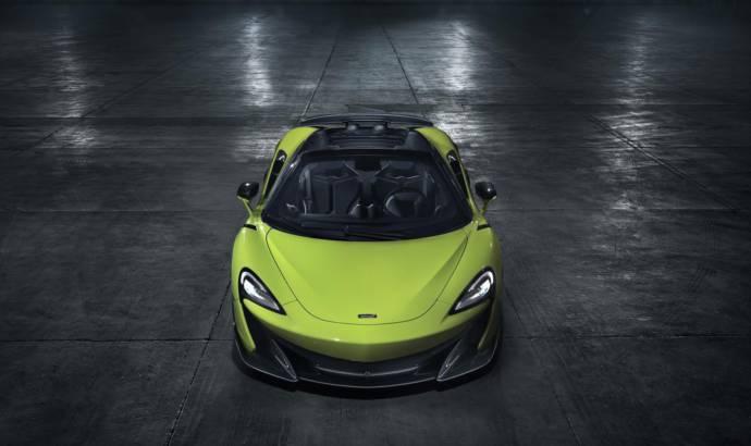 McLaren 600LT Spider unveiled