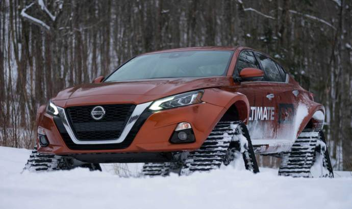 Nissan Altima -TE AWD receives some cool tracks