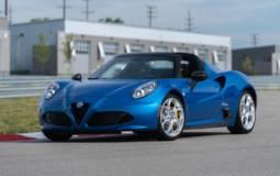 2020 Alfa Romeo 4C Spider Italia available in US