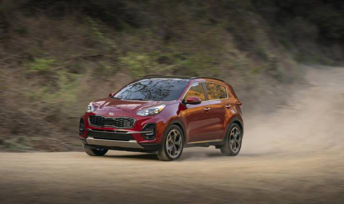 2020 Kia Sportage showcased in Chicago
