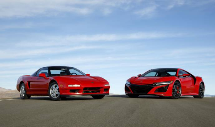Acura NSX celebrates 30 years