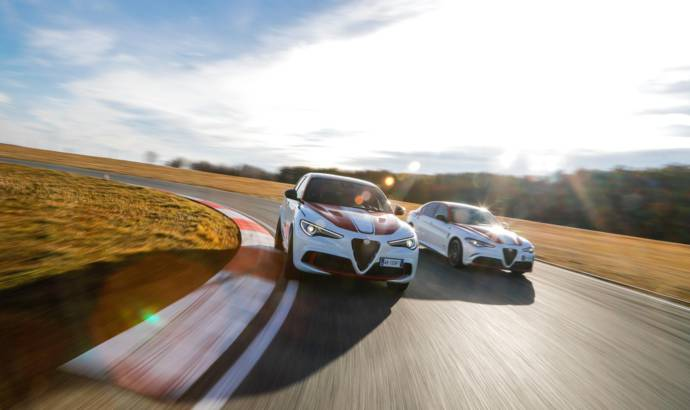 "Alfa Romeo Giulia Quadrifoglio and Stelvio Quadrifoglio ""Alfa Romeo Racing"""