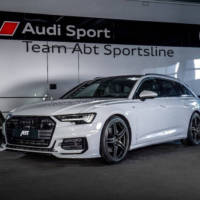 Audi A6 Avant modified by ABT
