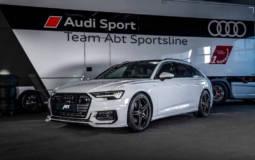 Audi A6 Avant modified by ABT