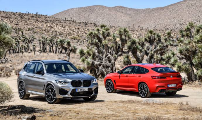 BMW X3 M and BMW X4 Competition launched