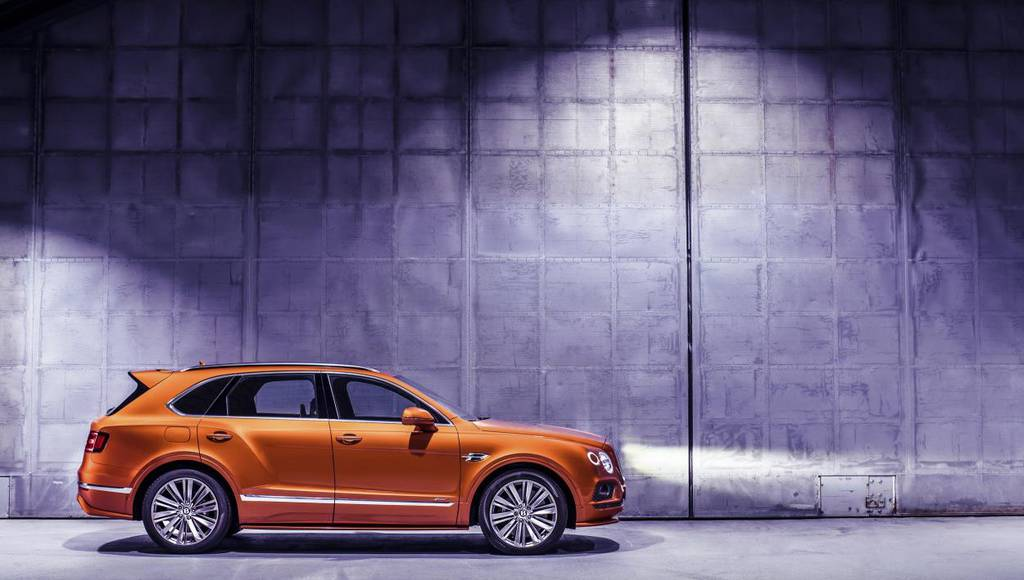 Bentley Bentayga Speed, the fastest SUV on the planet