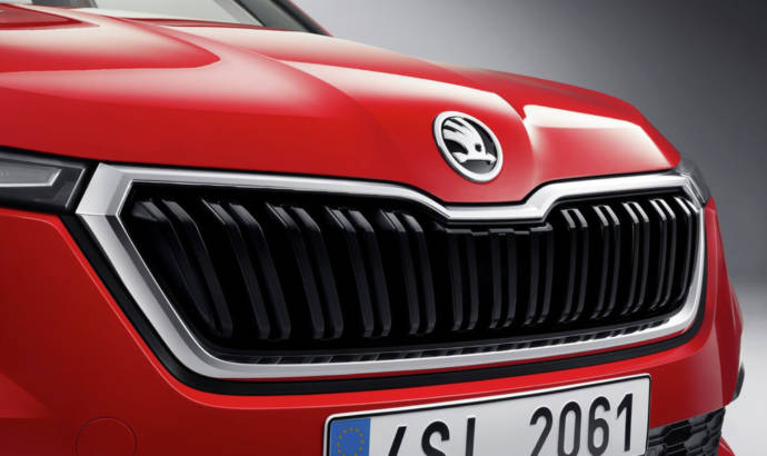First imagines of the upcoming Skoda Kamiq
